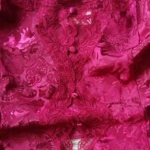 Victoria's Secret Intimates & Sleepwear - Vintage Victoria's Secret 2 Piece Set Size Medium